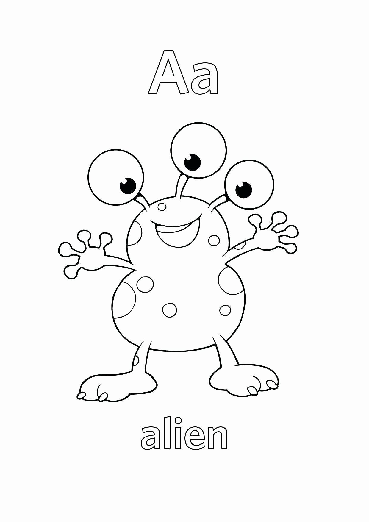 Printable Alphabet Coloring Sheets Inspirational