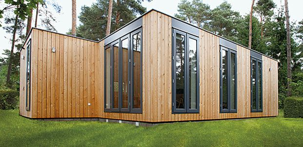 Max haus modulh user bersicht anbau pinterest for Modul container haus