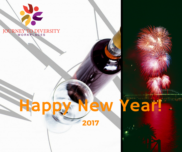 Happy New Year from Journey to Diversity Workplaces #2017 #J2DW #Barrie http://ift.tt/2hFwwHQ
