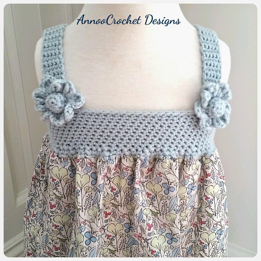 Annoo's Crochet World: Darling Summer Dress Free Tutorial ★•☆•Teresa Restegui http://www.pinterest.com/teretegui/•☆•★