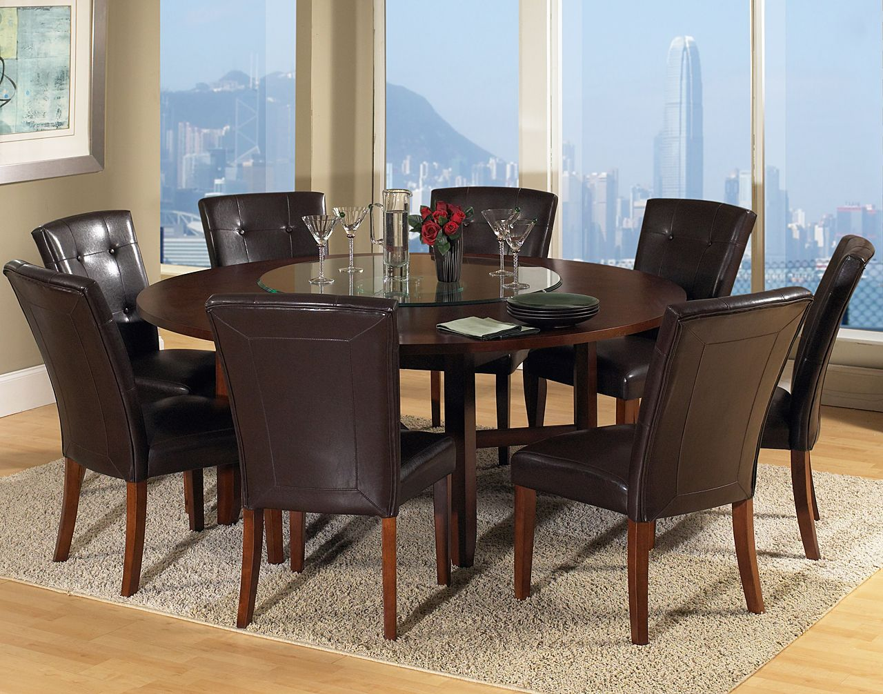 Round Dining Table For 8 People Comedor Redonda Decoracion Del