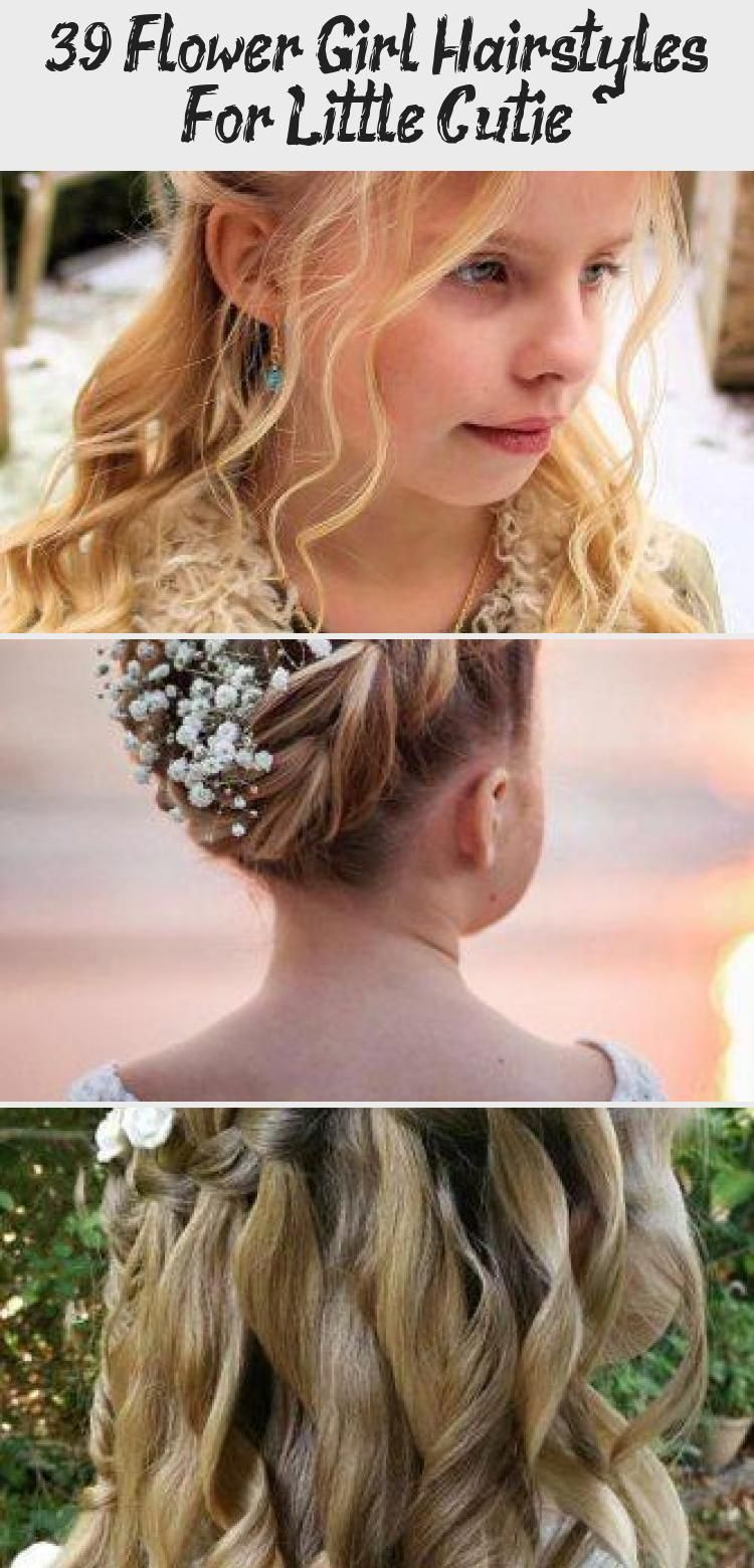 39 Flower Girl Hairstyles For Little Cutie  Hair Styles   33 Cute Flower Girl  F...,  #Cute #Cutie #Flower #formalhairstyleseasydiy #Girl #Hair #Hairstyles #Styles