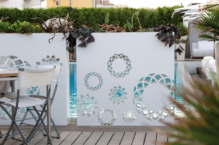 10 paravents et claustras pour pr server son intimit au for Deco jardin claustra