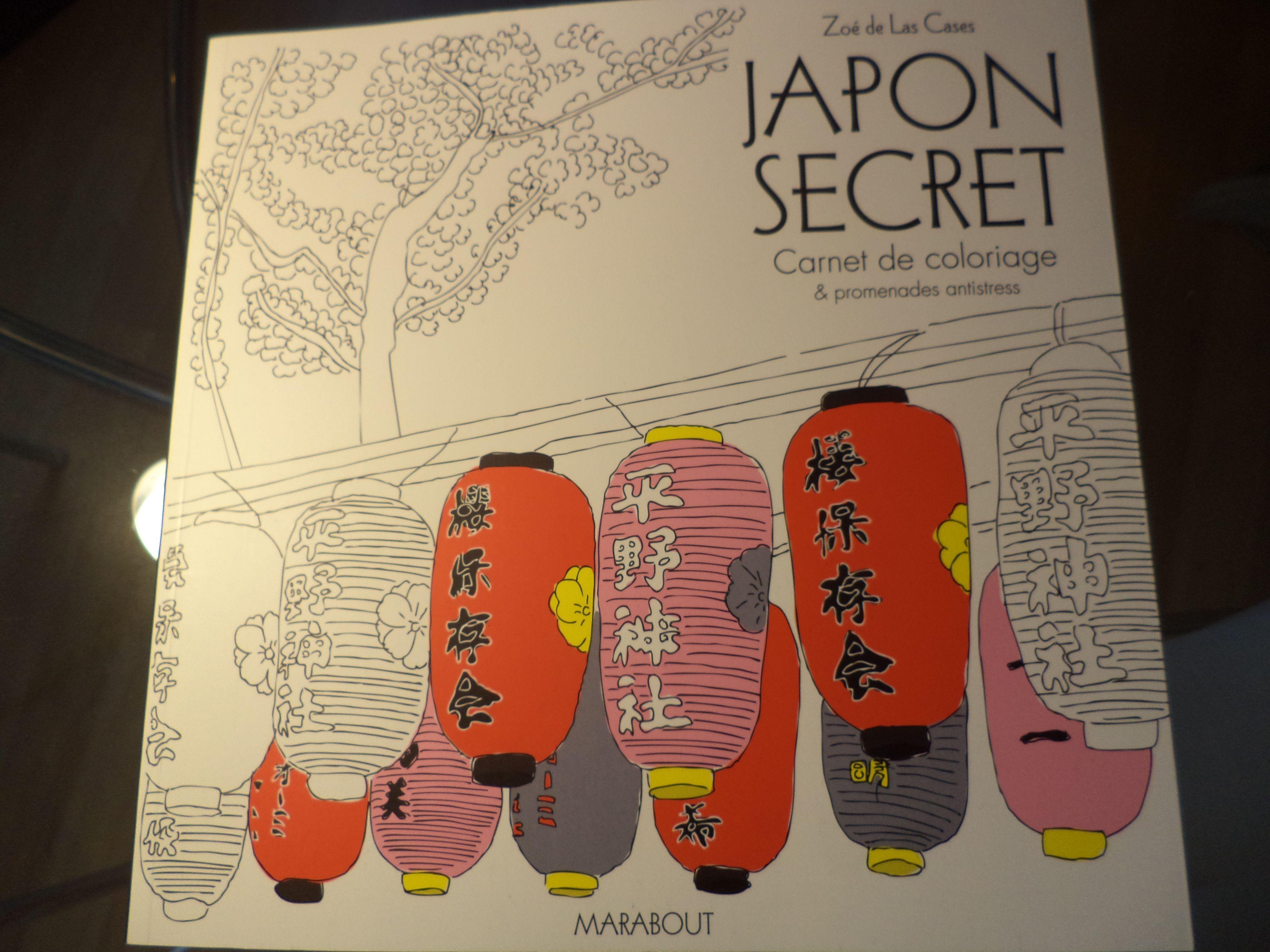 Japon Secret Coloriage Anti Stress Coloriage Stress
