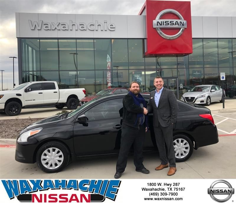 Congratulations Frederick on your Nissan Versa Sedan