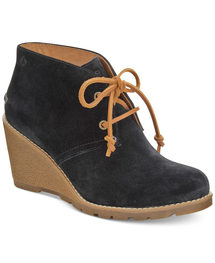 An absolutely charming touch to any day, Sperry's Stella Prow booties boast  ...