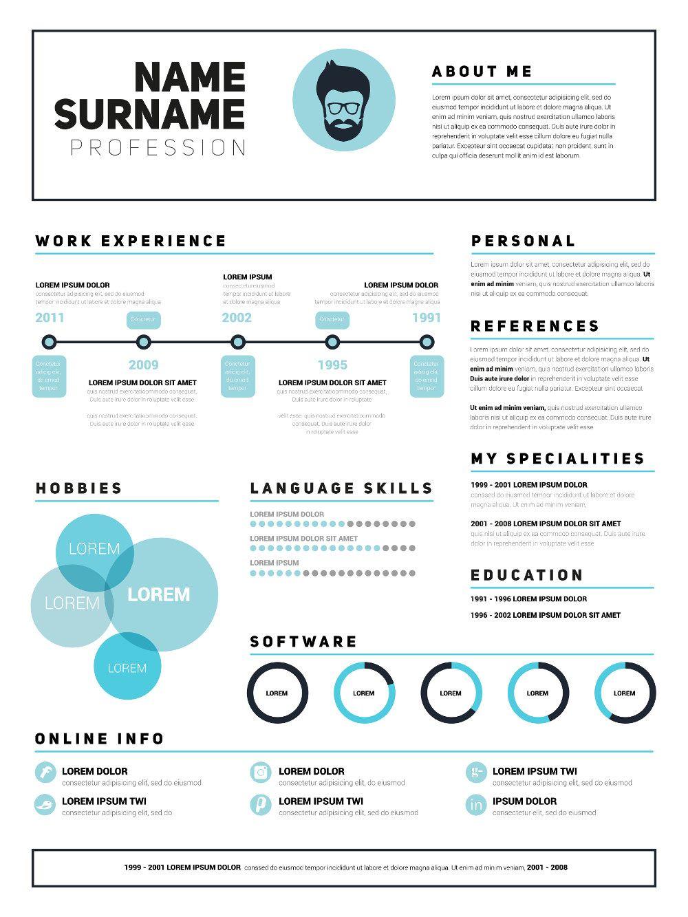 Lebenslauf Design: Tipps für die kreative Bewerbung ...