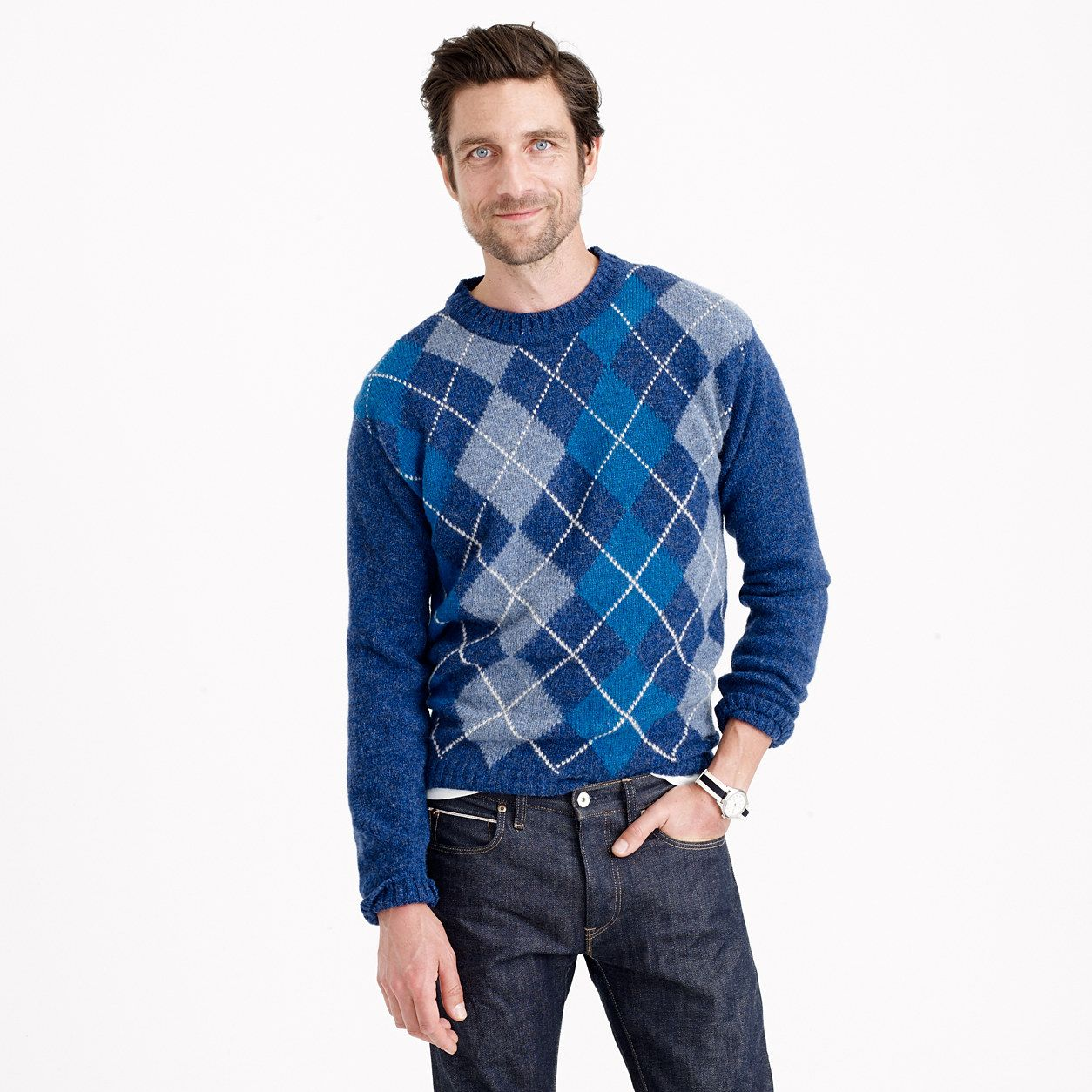 Harley of Scotland™ argyle sweater : J.Crew In Good Company | J ...