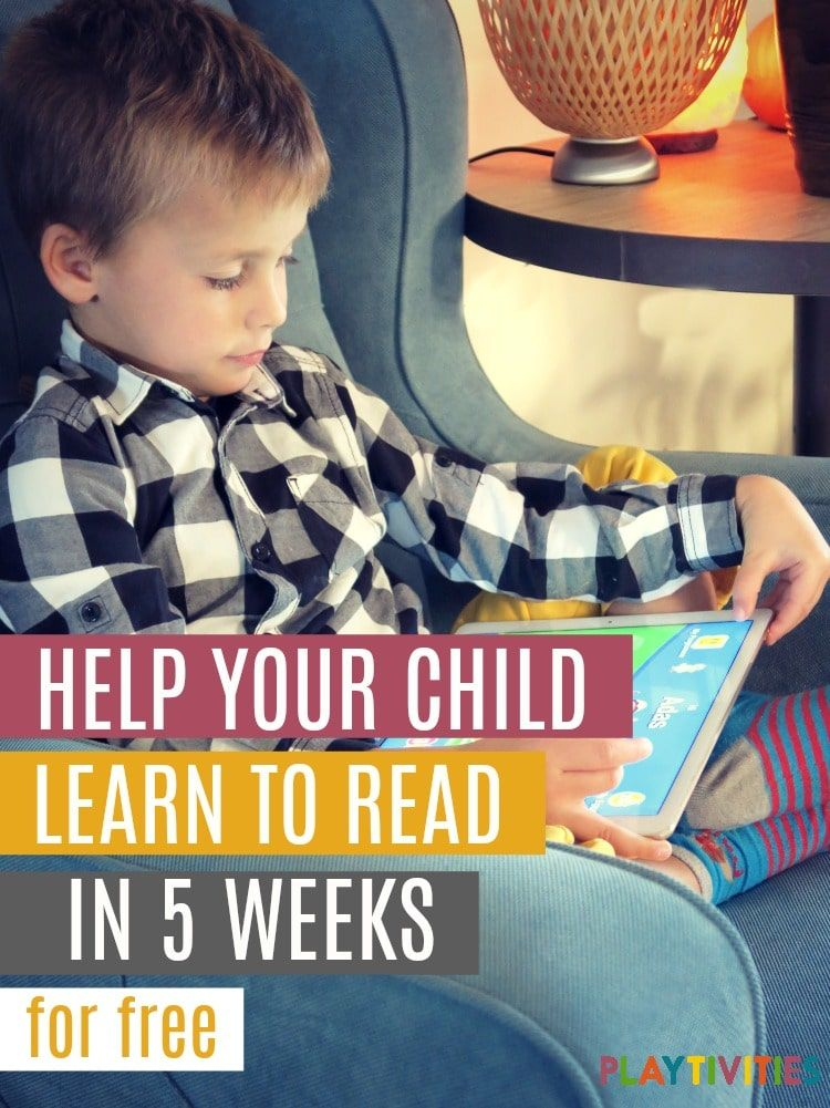 Help Your Child Learn To Read In 5 Weeks | Landon Activities ...