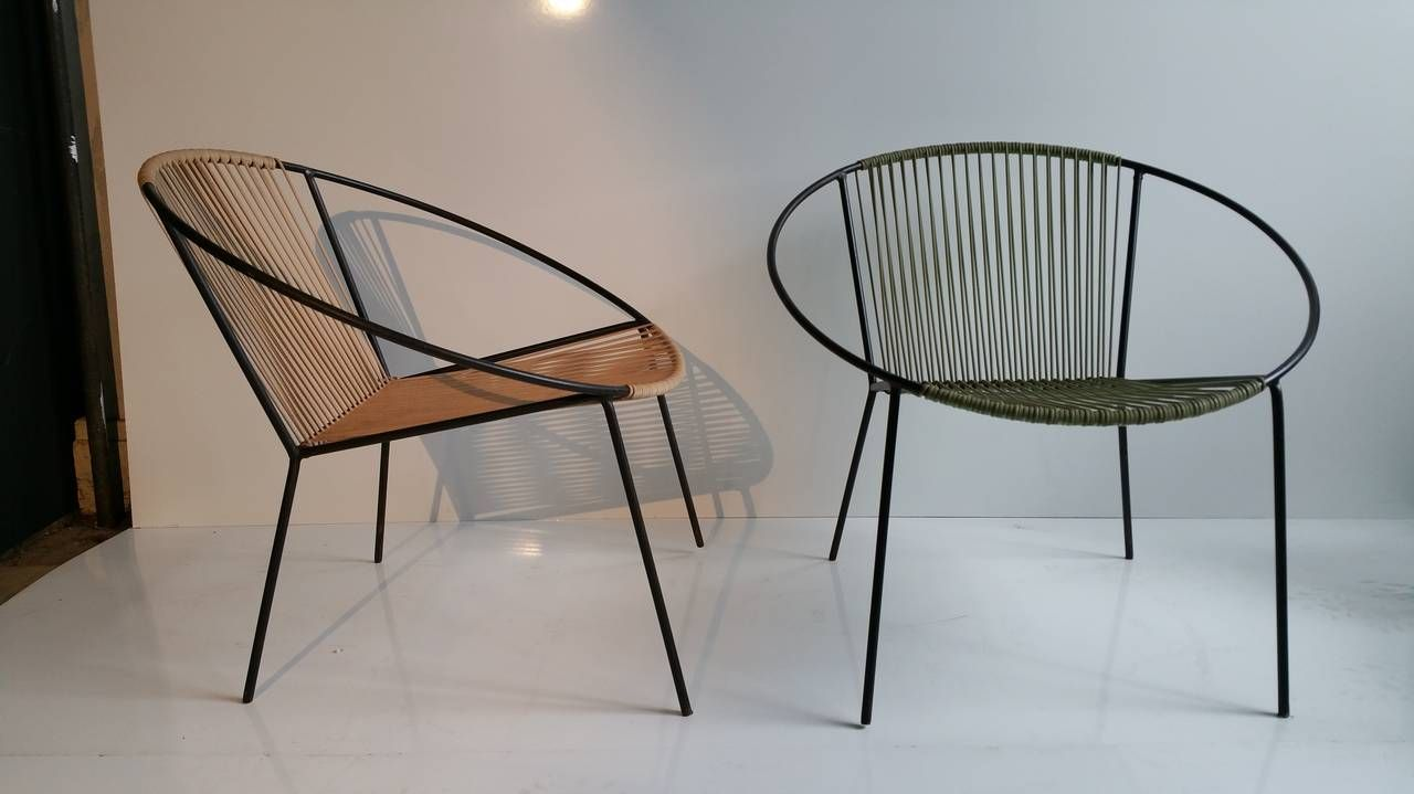 Outstanding Classic Mid Century Modern Outdoor Hoop Chairs By Dailytribune Chair Design For Home Dailytribuneorg