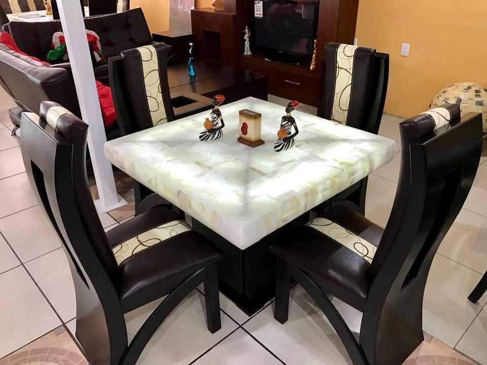 Comedor 4 sillas onix comedores sillas y mueble comedor for Comedores 4 sillas baratos