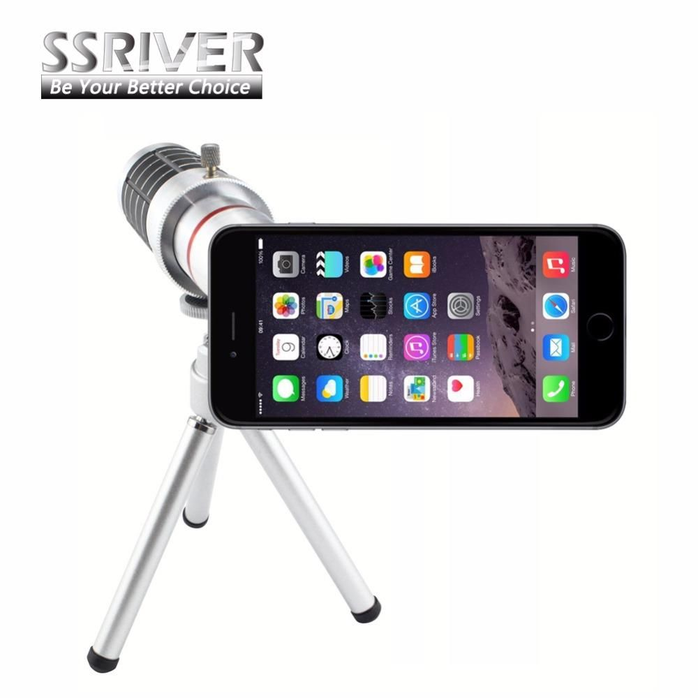 SSRIVER for iphone 7 Plus Perfrect 16X Optical Zoom Lens