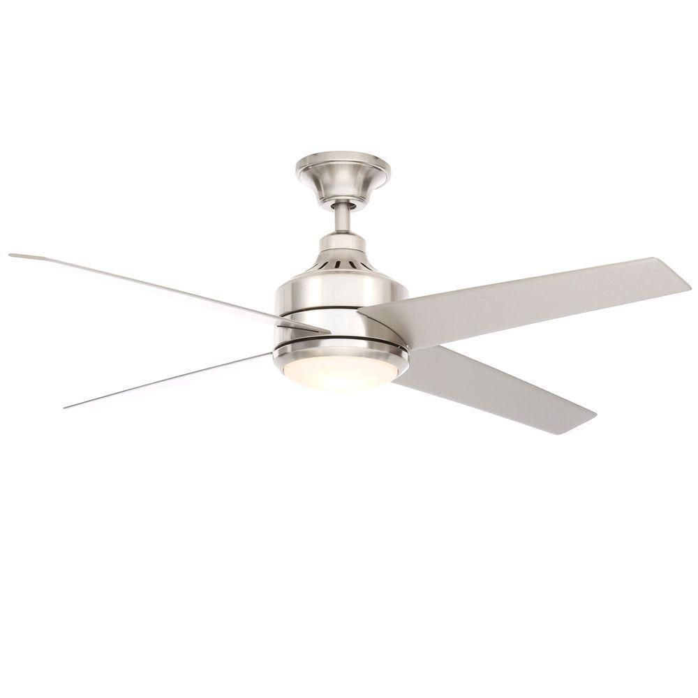 Brushed Nickel Ceiling Fan Replacement Parts Mercer 52 in