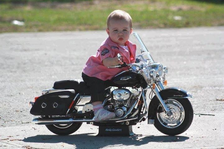 Biker Baby! Very cute oh yes!!! For Ayla and Ashton | Harley ...