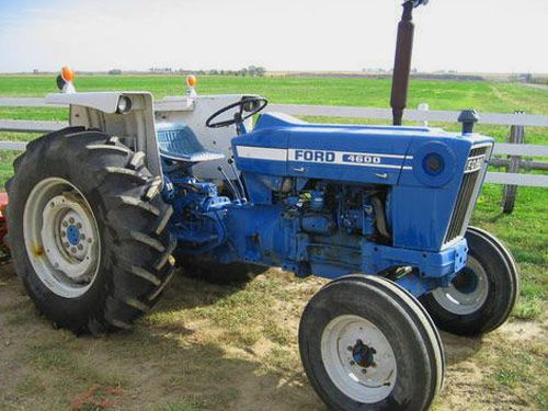 Old Ford Backhoe : Ford classic tractors tractor tralinks