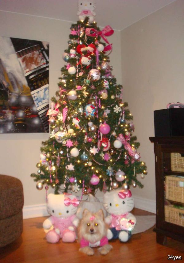 How To Decorate A Christmas Tree With Balls Christmas Decorating Ideas 2015  Bing Images  Merry Pink