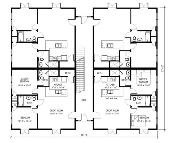 ordinary 4 unit condo plans #8: Pinterest
