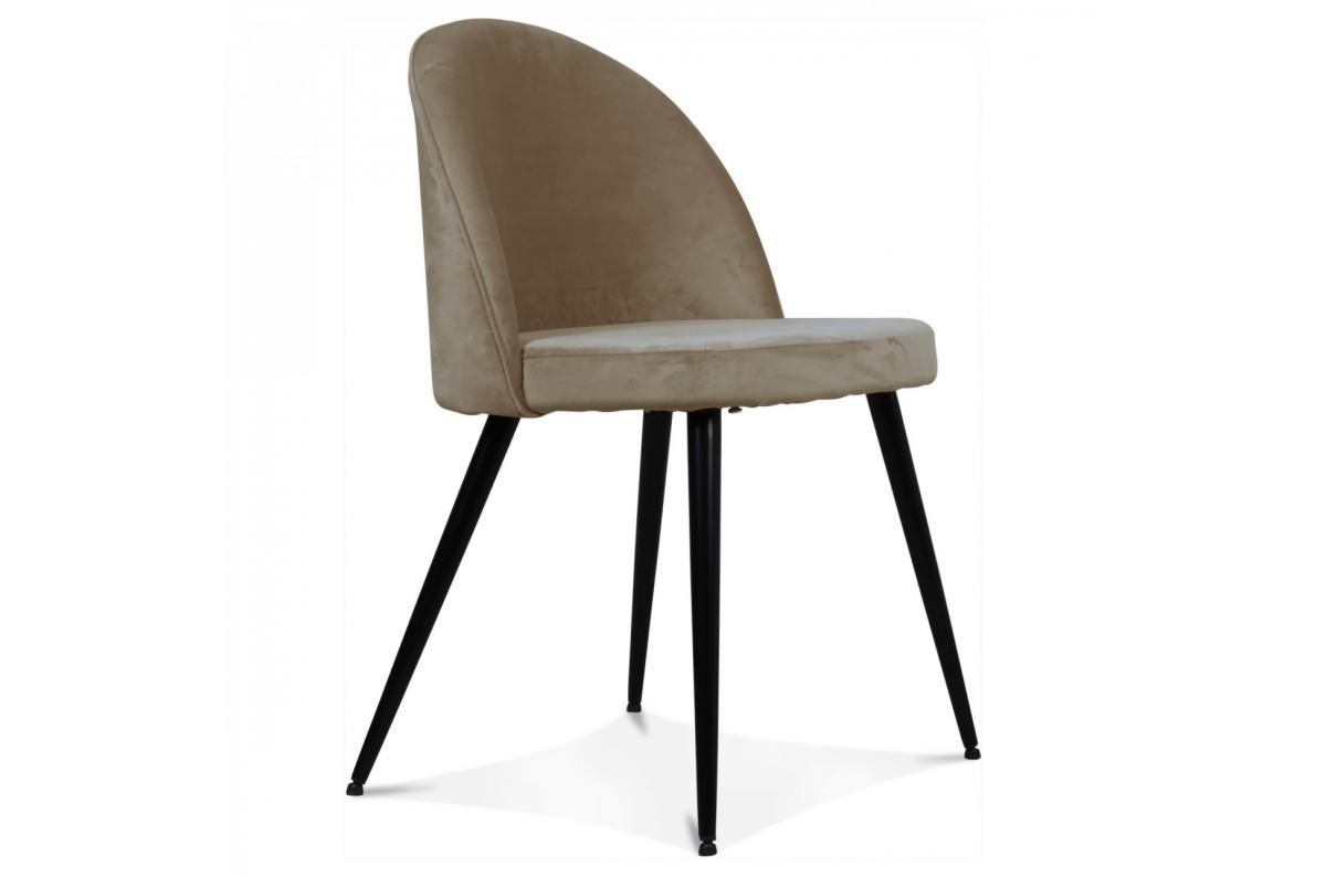 Chaise Velours Taupe Braily Chaise Pas Cher En 2020 Chaise Design Pas Cher Chaise Design Chaises Pas Cher