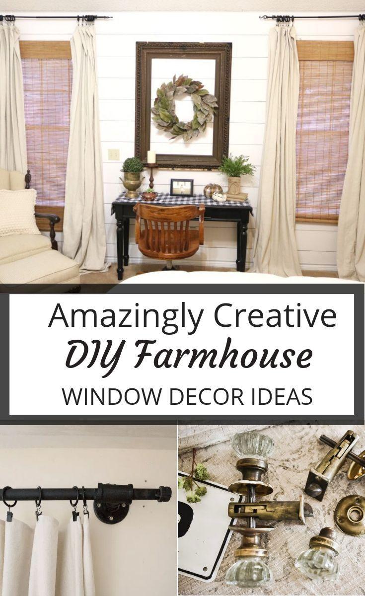 Easy creative ideas for your farmhouse home windowdecor diy farmhousediy diywindowdecor also frenzy   window decor all things rh pinterest