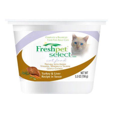 Fresh Pet Select Turkey Liver Recipe In Sauce Cat Food 5 5 Oz