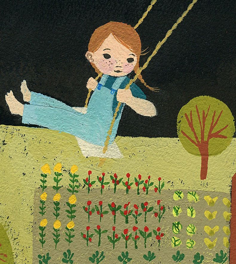 'The Garden Green' - Julie Morstad