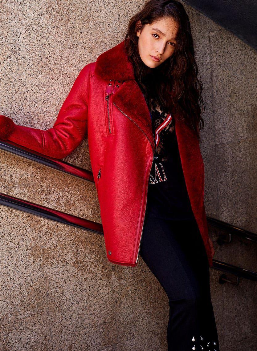 Double Sided Biker Jacket Bershka Dobule Sided Biker Jacket Bershka Fashion Jacket Style Jackets [ 1140 x 834 Pixel ]