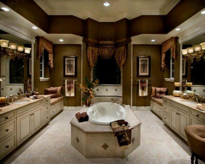 Bathroom beautiful bathrooms Pinterest Baños lujosos, Baños y Baño - baos lujosos