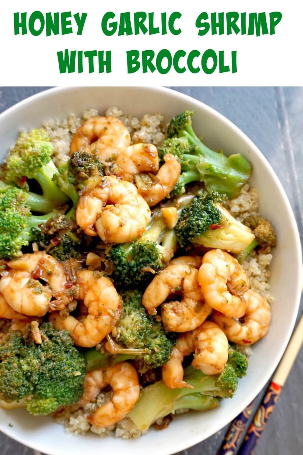 Healthy Honey Garlic Shrimp and Broccoli - My Gorgeous Recipes