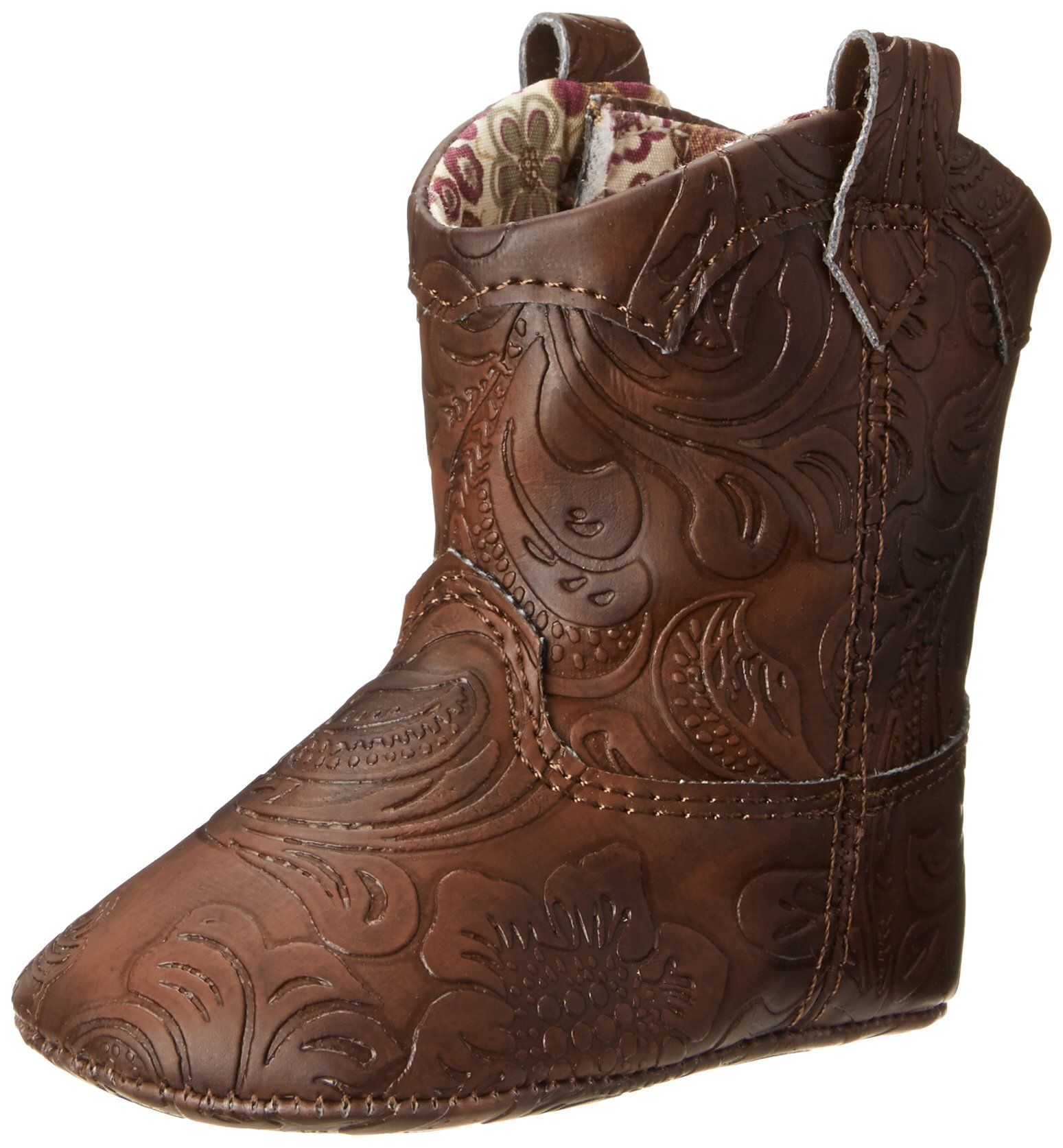Natural Steps Lil Gloss Soft Sole Western Style Boot