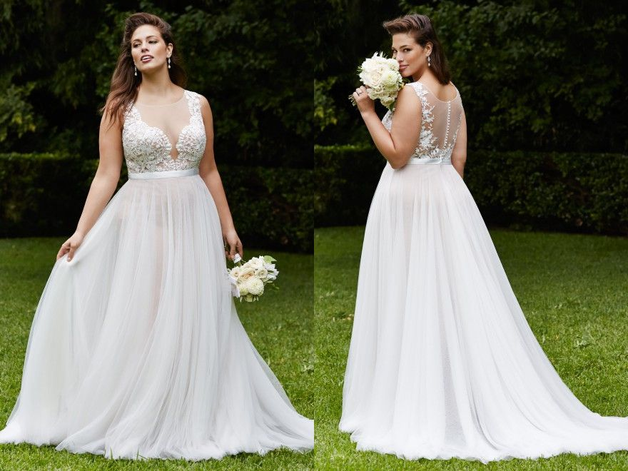 Plus Size Wedding Dress Spotlight: Marnie Gown From The
