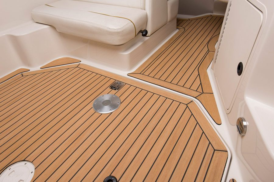 Barefoot Friendly Synthetic Boat Decking No Painting Synthetic Teak Yacht Materials Synthetic Boat