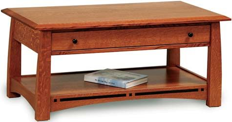 Boulder Creek Coffee Table In 2020 Coffee Table With Drawers