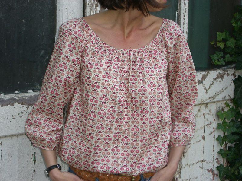 Tuto couture blouse