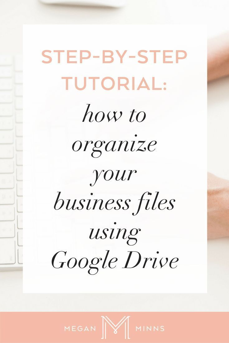 How to Organize Your Business Files Using Google Drive is part of Business organization, Google drive, Business systems, Google apps for work, Tutorial, Business management - As business owners, it can be very easy to let all of your digital and electronic files pile up  But by taking a few minutes to set up a filing structure that works for you, it will not only be easy to maintain, but you'll know where to find everything the moment you need it  So let's get started &a