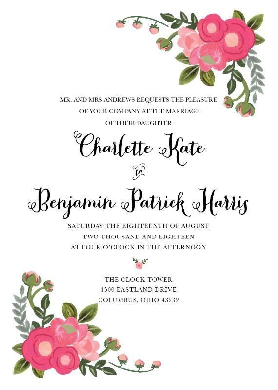 plantillas para invitaciones gratis