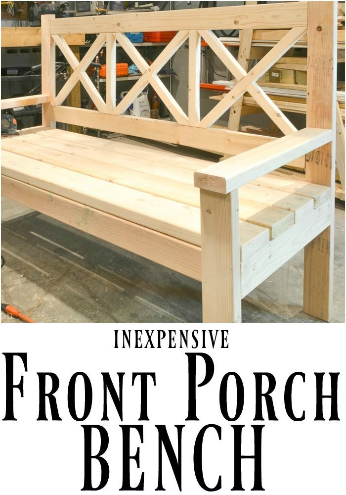 Large Diy Front Porch Bench Porch Bench Porch Furniture 400 x 300