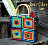 Color Crazy Pattern Mini Blossom Basket