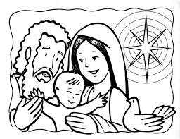 Resultado De Imagen Para La Familia De Jesus Para Colorear