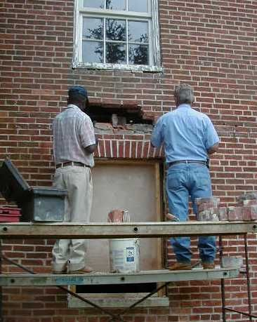 Repointing Mortar Joints In Historic Masonry With Images Home