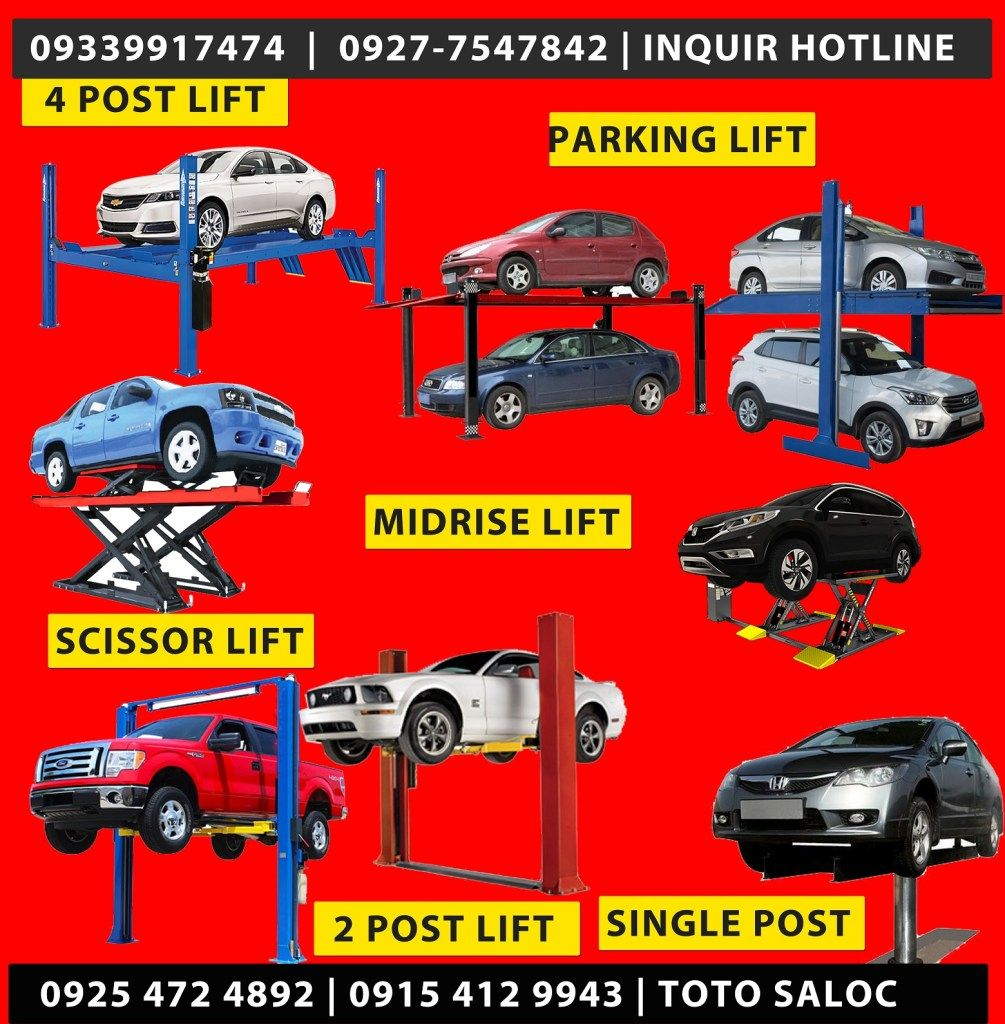 Philippines Automotive Car Lifter For sale in Affordable