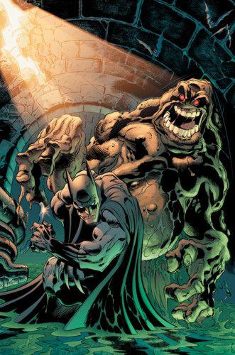 Clayface vs. Batman