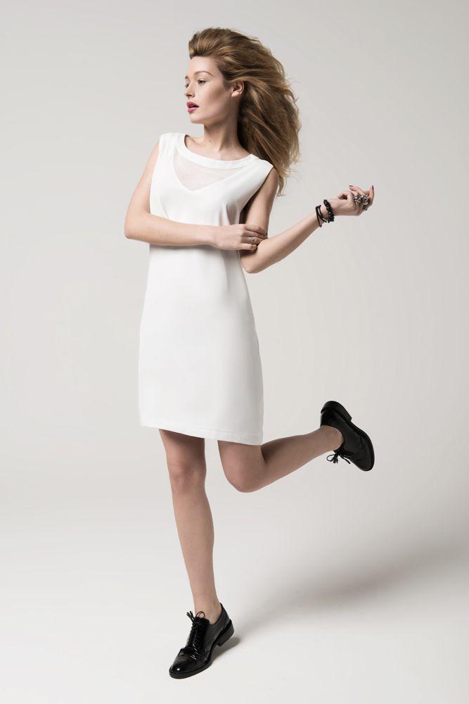 8bcd564e265 La petite robe blanche par elora. Chic et tendance