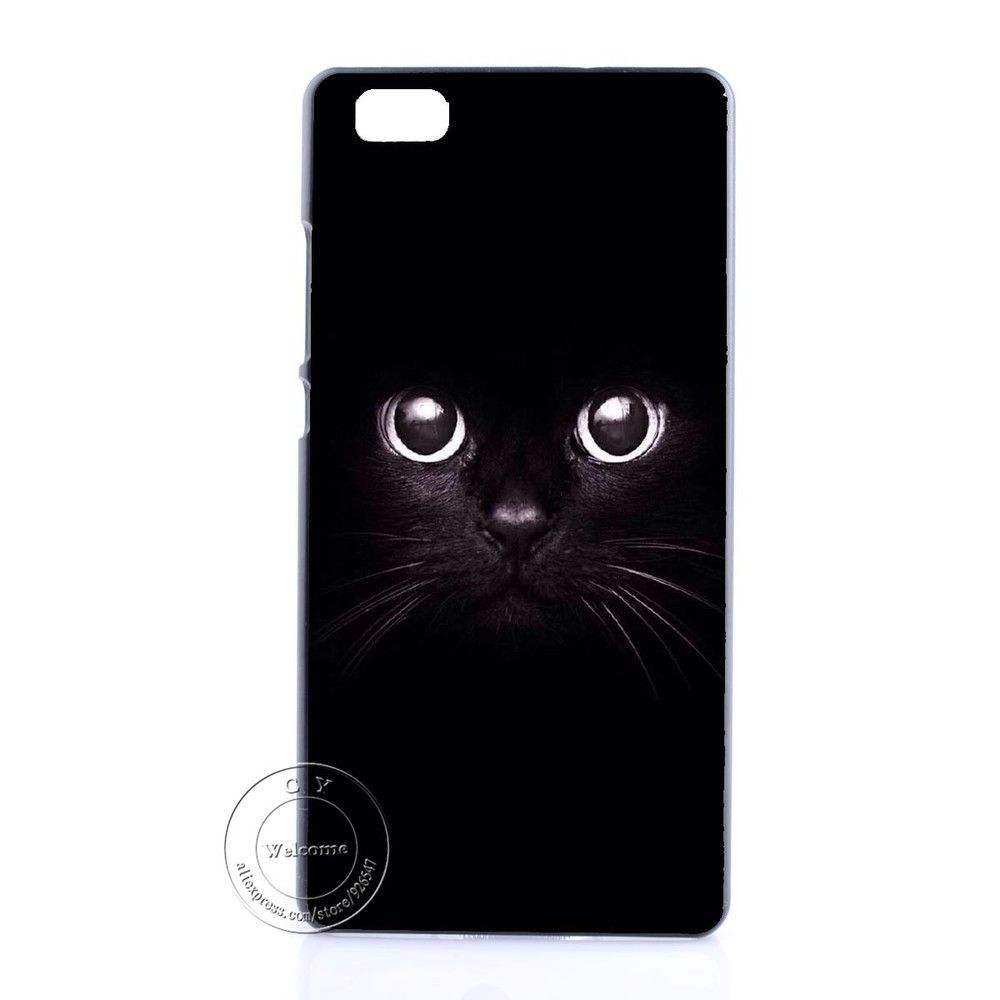 Grumpy Cute Cat Tiger Sexy Girl Elephant Hard Plastic Case Cover For Huawei Ascend P6 P7 P8 P8 Lite Mini P9 Lite
