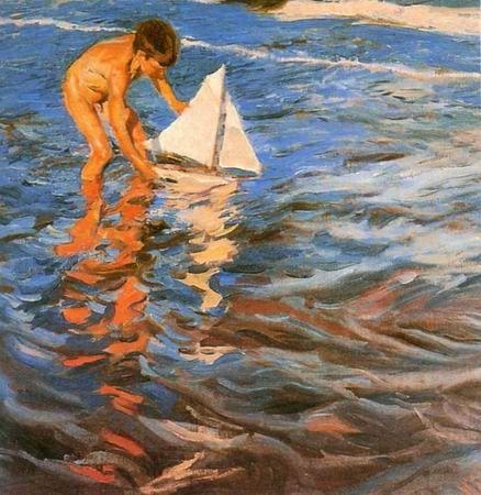 Joaquin Sorolla - JOVEM MARUJO - 1909