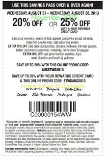 graphic relating to Carson Pirie Scott Printable Coupons identify Absolutely free Printable Discount codes: Carson Pirie Scott Discount coupons scorching