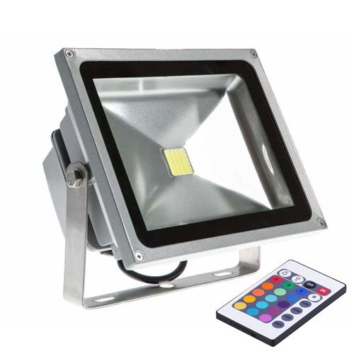 Foco proyector led rgb 30w exterior impermeable ip66 iluminacin explore led flood lights outdoor flood lights and more aloadofball Image collections