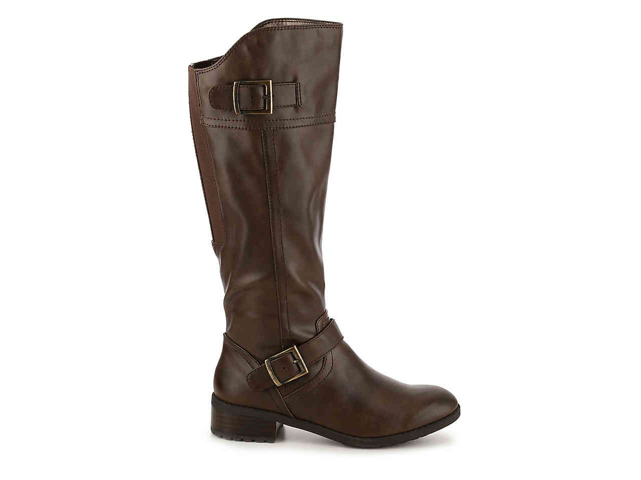 Andrew Geller Ideh Riding Boot Womens Shoes  DSW