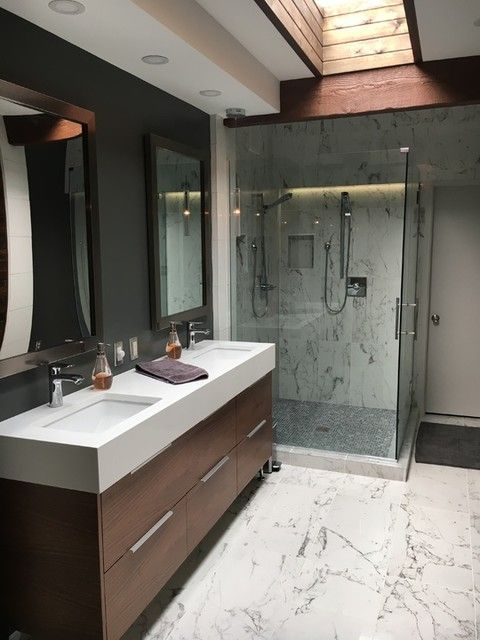 Venato Blanco Matte Porcelain Wall And Floor Tile 12 X 24 In The