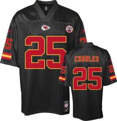 the latest 4a4c1 af9d7 Jamaal Charles Black NFL Kansas City Chiefs Jersey | Clothes ...