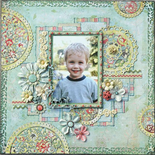 Little Mr. Sunshine @Tracy Stewart Stewart Stewart. We R Memory Keepers - Anthologie Collection